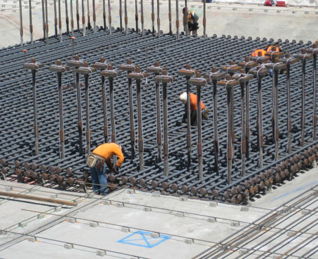 Tipping project sf public utilities commission hq for Building foundation design